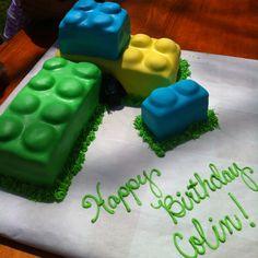Lego cake:)