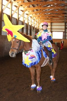 Starfish Costume Starfish Costume, Horse Halloween Costumes, Show Horses, Fall Halloween, Pjs, Fancy Dress, Cute Animals, Pictures, House