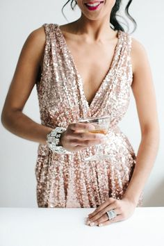 It's time to get festive! Slip into that sequin number, grab a cocktail from the bar, and ring in the new year in style.
