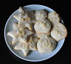 St. Clement's Orange and Lemon Cookies - wow these don't even make it into a cookie jar - the sugar zest was totally worth the time - the first time we just did orange but now we are trying it with the lemon too.  Sooo Yummy!  Kids love them too (3.5 yrs.) & they are not too sweet.