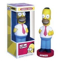 Homer Simpson bobblehead: $18.95