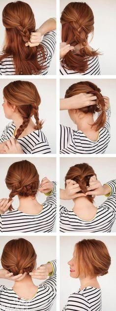 Những biến tấu tóc búi đơn giản mà đẹp mắt cho cô dâu mới 16