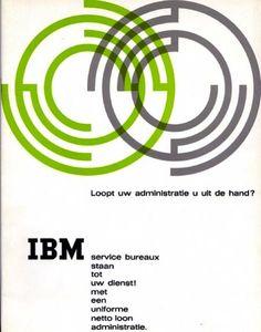 Loopt uw administratie u uit de hand? (Is your administration you using?) Brochure, IBM, 1960