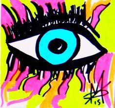 #Madame Mazuni, Eye Eye - Mazuni Styleee on ArtStack #madame-mazuni-1 #art
