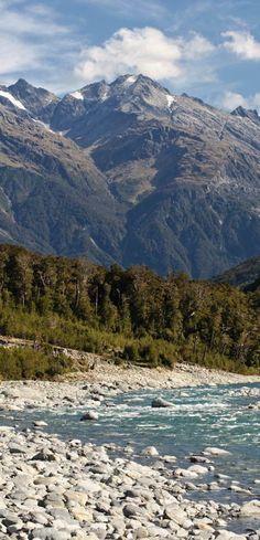 Landsborough River, West Coast, New Zealand