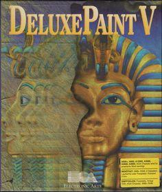 Deluxe Paint V (Amiga)