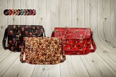 Faux Leather Animal Satchel - 3 Designs!