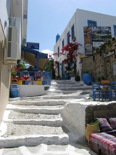 straatje Kos-stad (gemaakt in Kos)