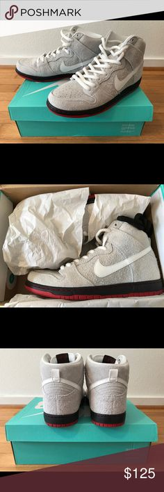 """Nike SB Dunk High Nike SB Dunk High """"Black Sheep"""" Excellent used condition. Only worn twice. Size: Men's 11 Nike Shoes Sneakers"""