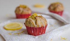 Citronové muffiny s mákem