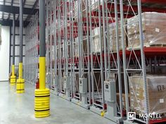 Industrial mobile racking systems offer solutions to challenges depriving warehouse logistics of optimized on-site storage capabilities.