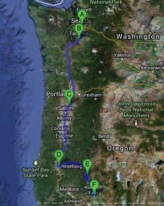 Part two of our epic journey from San Francisco to Seattle and back again. This post takes us from day 6 to 9 with a day in Seattle, getting the tyres fixed in some little US town, outdoor cinemas in Roseburg, off the grid camping at the Lava Beds National Monument and my favourite moment of the whole trip - Crater Lake.