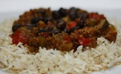 Diabetic Good Cooking: Cauliflower Rice with Chilli Con Carne