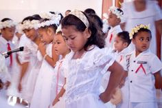 Samoan children at Church