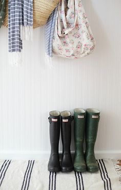 Google Image Result for http://www.abeachcottage.com/wp-content/uploads/2012/11/beach-cottage-Hunter-boots-in-entrace-hall-_thumb.jpg