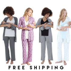 Newborn baby pajamas to keep your little ones confident while they rest and sleep, come across newborn baby and toddler pajamas available in trendy colors. Maternity Pajama Set, Nursing Pajama Set, Maternity Nursing Pajamas, Maternity Sleepwear, Boys Sleepwear, Maternity Dresses, Toddler Outfits, Kids Outfits, Toddler Pajamas