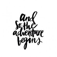 And so the adventure begins | PULL YOUR LOOK