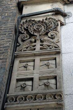 side of the Jewelers Building by Adler & Sullivan, Chicago Louis Sullivan, Chicago School, Chicago Art, Art And Architecture, Architecture Details, Chicago Sculpture, Art Nouveau, Art Deco, Arquitetura