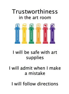 Posters on character: there are 6 of these and they could be adjusted for any class!  Great for your PBIS lessons especially at beginning of year...