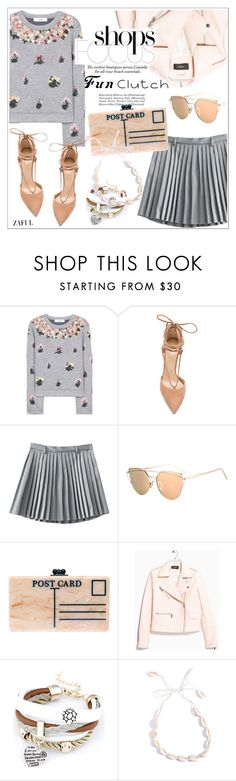 """""""Grab and Go"""" by teoecar ❤ liked on Polyvore featuring Valentino, Raye, Edie Parker, MANGO, Clutch and funclutch"""
