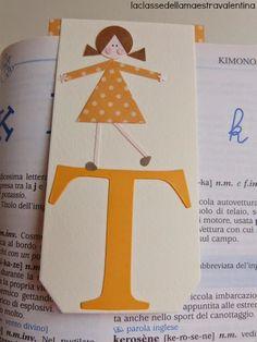 La classe della maestra Valentina: segnalibri