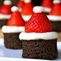 Ok, don't love strawberries, but these are tooooooo cute.