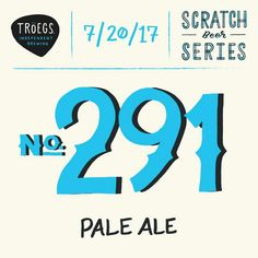 Tröegs - No.291  http://www.beer-pedia.com/index.php/news/19-global/4769-troeegs-no-291  #beerpedia #troegs #paleale #cascade #nugget #beerblog #beernews #newrelease #newlabel #craftbeer #μπύρα #beer #bier #biere #birra #cerveza #pivo #alus