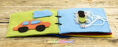 libro per bambini in feltro, libro sensoriale per bambini, libro sensoriale feltro, Picnic Blanket, Outdoor Blanket, Patch Quilt, Sunglasses Case, Projects To Try, Coin Purse, Quilts, Books, Handmade Books