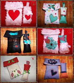 Mobile phone cases and key ring ~ handmade by MelindaCrea