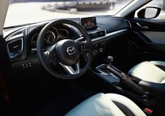 2016 Mazda 3 Hatchback Interior