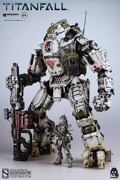 Titanfall Atlas - Titanfall Collectible Figure by Threezero | Sideshow Collectibles