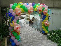 Cómo hacer Arcos con Globos - Decoración con Globos