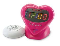Sonic Boom SBH400ss Sweetheart Loud Plus Vibrating Alarm Clock