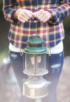 My dad had several camp lanterns just like this one. They actually put out a fair amount of light and while they burned they made a fair amount of noise too.