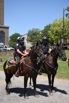 City of Bethlehem - Image Gallery - Mounted Police