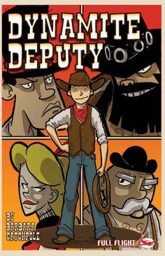 Dynamite Deputy Ben never lets being deaf stop him from being the best deputy sheriff in the wild west!