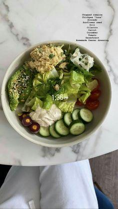 Think Food, I Love Food, Healthy Snacks, Healthy Eating, Healthy Recipes, Plats Healthy, Food Goals, Food Is Fuel, Aesthetic Food