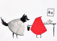 "Emma Block, ""Little Red Riding Hood"""