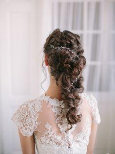 Anne Marie vine Lace Wedding, Wedding Dresses, Bridal Accessories, Vines, Swarovski, Fashion, Bride Dresses, Moda, Bridal Gowns
