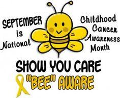 September is National #ChildhoodCancer Awareness Month