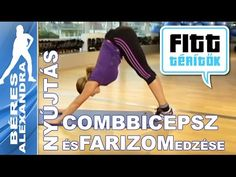 Béres Alexandra - Farizom és combizom edzése (Fitt-térítők sorozat) - YouTube Wellness Fitness, Health Fitness, Zumba, Fitt, Pilates, Youtube, Workout, Baseball Cards, Sports