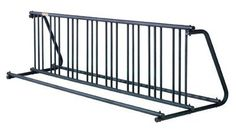 Industrial Bike Rack - 16 Bikes 2 Sided (EA) by Allen Bike Racks. $937.98. Rugged two step finish offers the durability and corrosion resistance of zinc plating with the aesthetics of black powder coating. Modular design allows multiple racks to connect together to solve just about any bicycle parking need. Assembly required. Models 204s/d and 206s/d are ups shippable. These bike racks offer a superior product in finish and manufacture. The modular system offers tremendou...