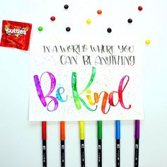 How to create faux watercolor lettering using @tombowusa Dual Brush Pens