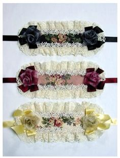 Beautiful floral square headdresses!