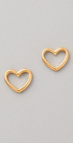 Love edge stud earrings. marc by marc jacobs.