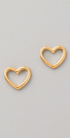 Marc Jacobs Love Edge Stud Earrings