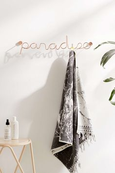 Paradise Wall Hook - Urban Outfitters
