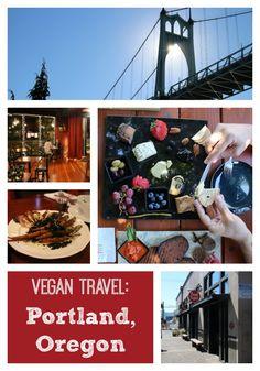 Vegan Travel: Highlights from Portland, Oregon - Where to eat (so many vegan restaurants!), shop, & more | A.N.D Cafe, the vegan mini mall, Vtopia, St. Johns Bridge, Harvest at the Bindery | cadryskitchen.com