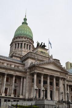 Congreso, Buenos Aires, Argentina http://www.southamericaperutours.com/southamerica/15-days-riojaneiro-iguazu-buenosaires-machupicchu.html