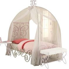 Metal Canopy Bed, Full Bed, Canopy Beds, Tent Canopy, Bed Tent, Princess Canopy Bed, Princess Room, Baby Princess